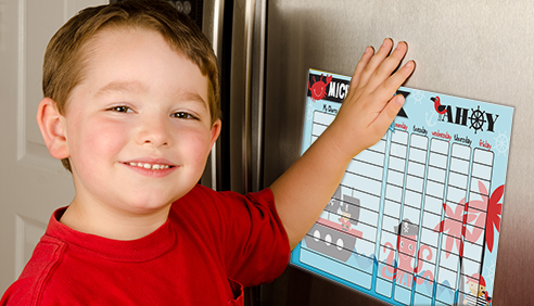 Personalized Kids Chore Charts by Personalize it FREE