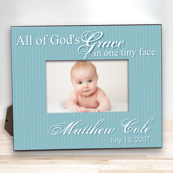 7a106565c18 Personalized Baby Keepsake frame