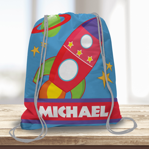 In Outer Space Sports Bag