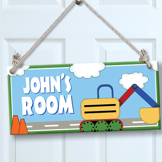 Personalized kids sign for wall door constsruction for Personalized kids room decor