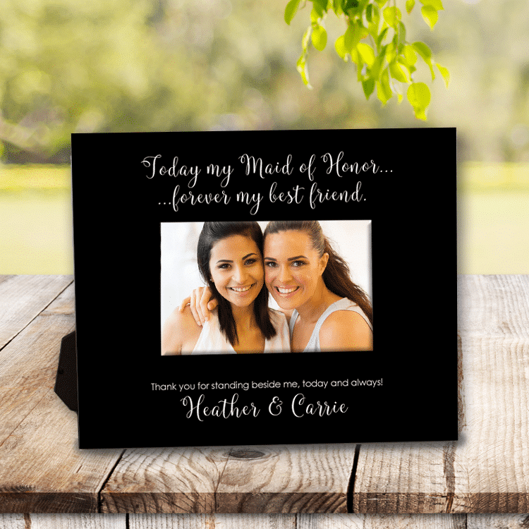 Today my Maid of Honor... Forever My Friend Personalized Wedding ...