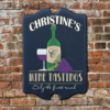 W2W-B00003 Wood Wine Tastings Game Room Home Bar Tavern Personalized Pub Sign by Personalize it FREE