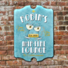 W2W-B00011 Wood Martini Lounge Game Room Home Bar Tavern Personalized Pub Sign by Personalize it FREE