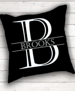 WW-WEDP00003 Personalized Wedding Throw Pillow Keepsake Monogram Gift Idea by Personalize it FREE