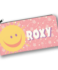 PK-PC00021 SUNSHINE PATCHWORK PALS Kids Back to School Personalized Pencil Case Holder by Personalize it FREE