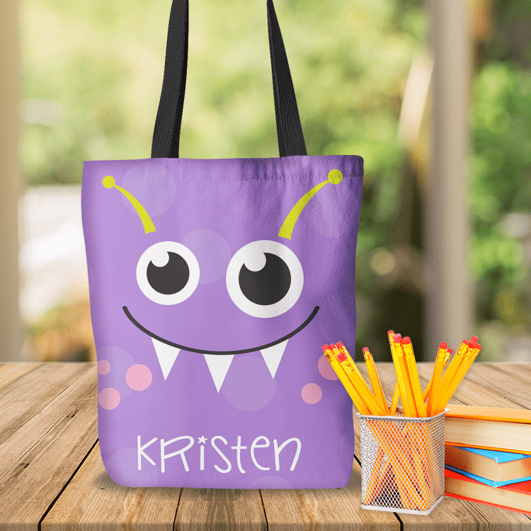Personalized Kids Tote Bag Sports