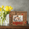 PIF-PF00010 Mom Mother Word Art Custom Personalized 8x10 Picture Photo Frame by Personalize it FREE