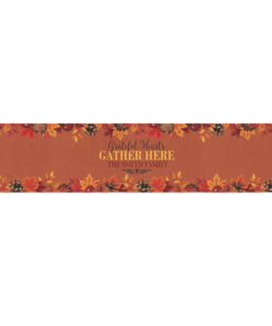 PIF-TR00001 Custom Personalized Holiday Table Runner Table Accent by Personalize it FREE