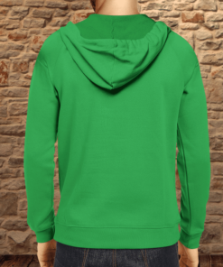 PIF-MENSH00002 Men's St. Paddy's Day Property of Irish Drinking Team Custom Personalized Hooded Sweatshirt Hoodie by Personalize it FREE