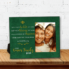 PIF-PF00021 Personalized Elegant Irish Blessing Family Keepsake Picture Frame by Personalize it FREE