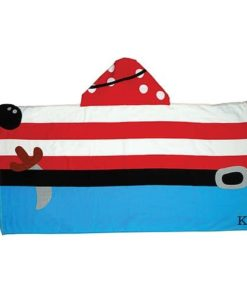 PIFWST222 Pirate Hooded Towel by Personalize it FREE a