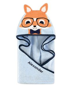 PIFWST261 Fox Hooded Towel by Personalize it FREE